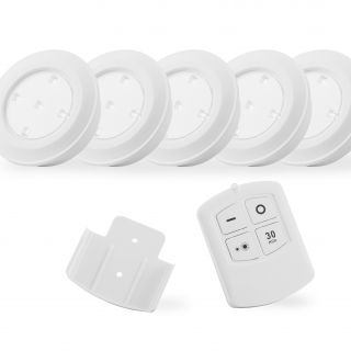 Puck light Led wireless 5 en 10 pack + Afstandsbediening