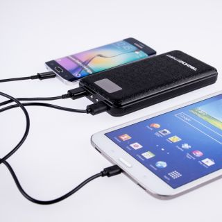 Technosmart Powerbank 16000mAh zwart