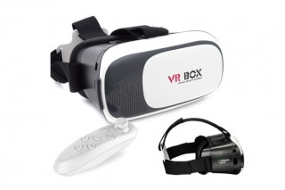 Virtual reality box with remote