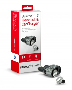 Bluetooth headset & car charger