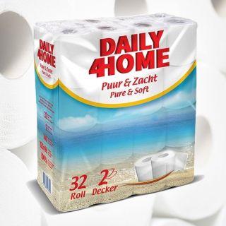 Daily4Home Toiletpapier 96 rollen 3 pack