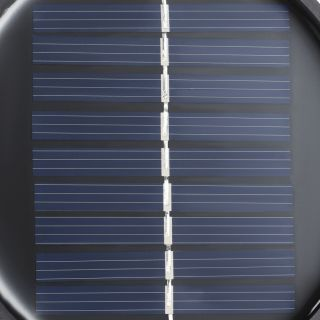Utah LED solar wandlamp