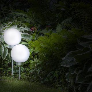 LED Solar bol op voet Miami