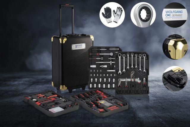 Premium Wolfgang Gereedschapskoffer 320-delig