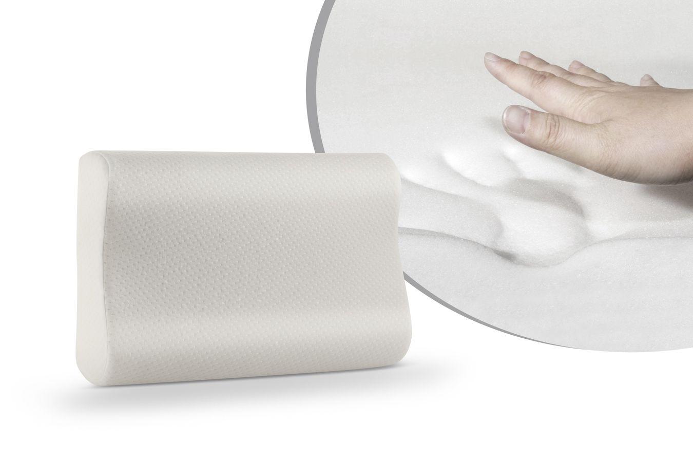 Memory Foam Kussen : Memory foam kussen met nekrol sleepmed