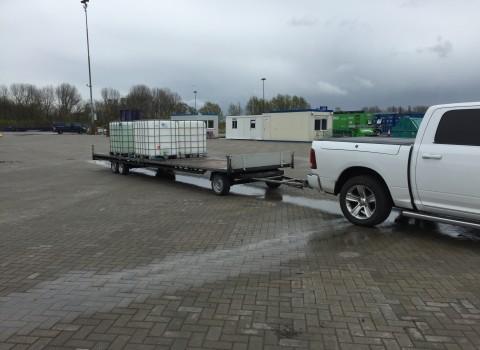 Water tanken wisselen in Velsen Noord