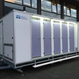 20 douches geleverd in Amsterdam