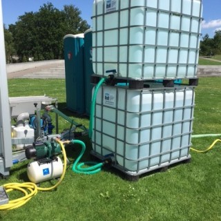 Buffertank schoonwater