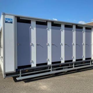 12 klepper toiletwagen