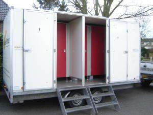 Mobiele toiletwagen