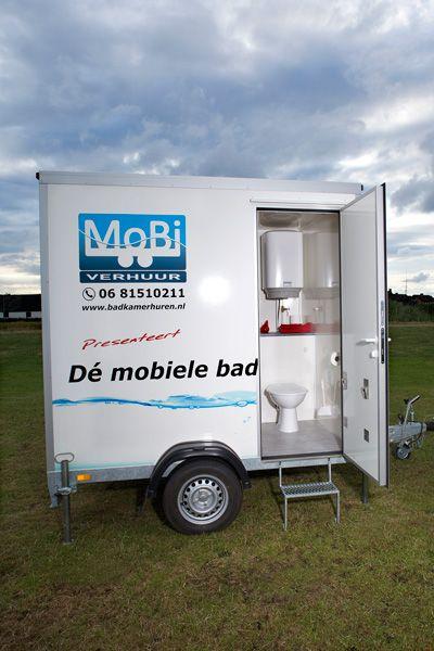 Mobiele badkamer — Mobi Verhuur