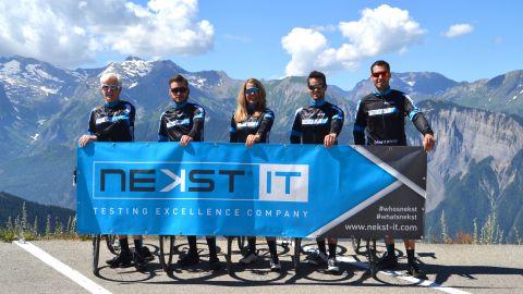 Cycling Team Nekst IT - Marmotte Alpes 2018