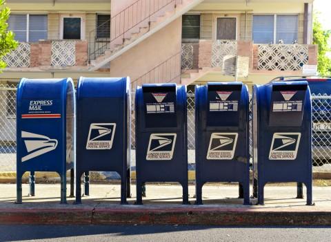 Post vervoerder