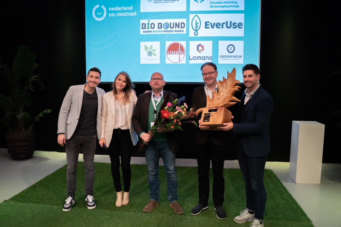 Uitreiking eerste prijs duurzaamste bedrijf van Nederland