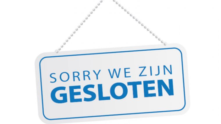 Kantoren gesloten op woensdagmiddag 21 november 2018