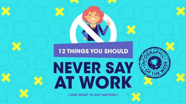Wat je dus NIET moet zeggen op je werk