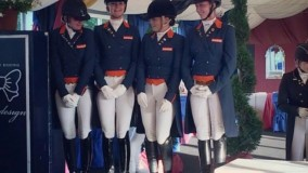 Double Germany-Holland-Denmark Podium in Arezzo