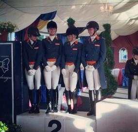 Double Germany-Holland-Denmark Podium in Arezzo