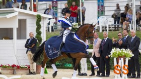 President's MDH Avanti (s. United) wins two gold medals at European Young Riders Championships