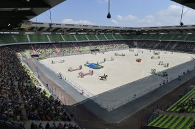 One Hundred Horses to Contest 2014 World Equestrian Games after Horse Inspection