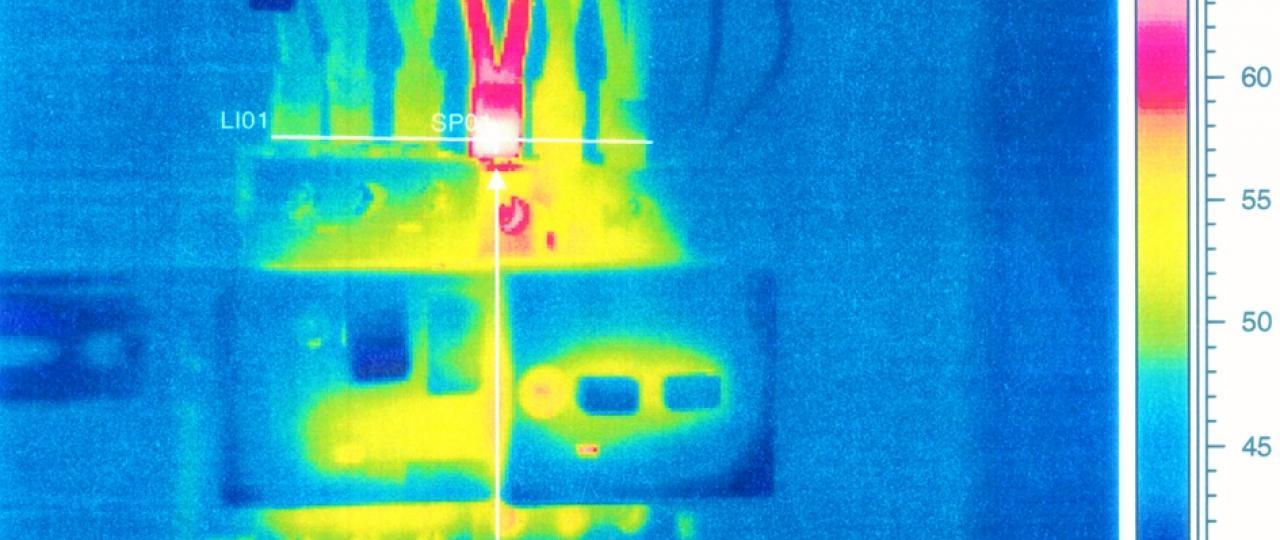 Thermografische inspectie en keuring