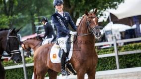 Five Star wint met Kirsten Brouwer de zilveren medaille op het WK