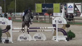 Concetta met Emile Brouwer 3e plaats in ZZ-niveau