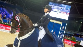 Kirsten Brouwer winns today with Super Sultan des Paluds final selection Dutch Championsips ZZZ-level