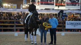 Clinic gegeven met Isabell Werth in Lyon