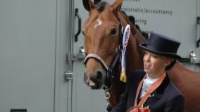 Kirsten Brouwer met Velvet Dream bronzen medaille op de Nederlandse Kampioenschappen