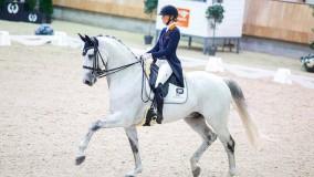 Kirsten Brouwer met Everlast-Lindh naar 4e plaats in de kür NK 2019