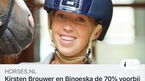 Binoeska wint Grand Prix met bijna 71%