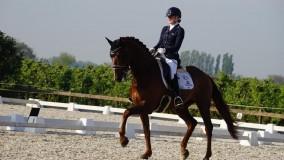 Succesvol debuut van Cynthia met Zandberg in de klasse ZZ-zwaar