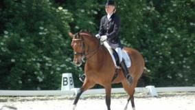 Een 1ste en 2e plaats voor Kirsten met Velvet Dream in Uden