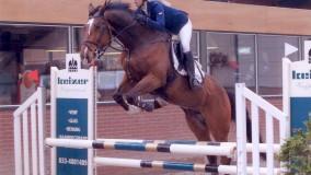 Kirsten Brouwer met Zabor een mooie 2e plaats in Houten