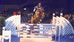 Emile Brouwer met Uutje op Jumping Amsterdam van start