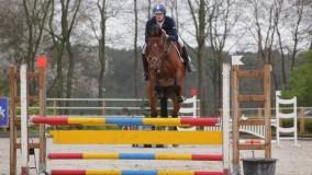 Emile Brouwer met Tchincolat een mooie 2e plaats in Roosendaal