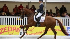 Kirsten Brouwer doet met Dancer er nog een schepje bovenop, gouden medaille op het WK