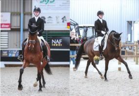 Geslaagde dag voor SB gisteren op de mooi georganiseerde jonge paarden competitie in Berlicum.