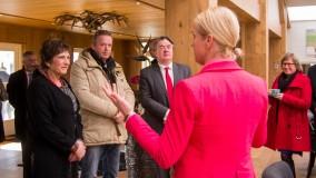 Platinum Stable vereerd met werkbezoek van CvK Wim van de Donk en Burgemeester Goirle