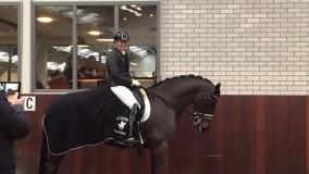 Annemarie Brouwer behaald met Caramba 4e plaats op het NK