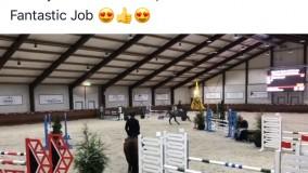 Nieuw springpaard voor Emile Brouwer de 5-jarige Nashville