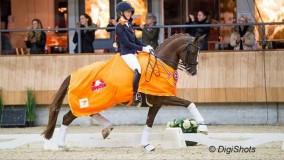 Woow, Kirsten Brouwer scoort met Sultan des Paluds 75,2% in het ZZ-zwaar