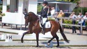 Ghandi wint de Z2 klasse met Kirsten Brouwer bij Johan Laseur