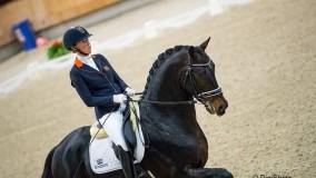 Kirsten Brouwer met Hummer naar een mooie 2e plaats in de HK Ermelo