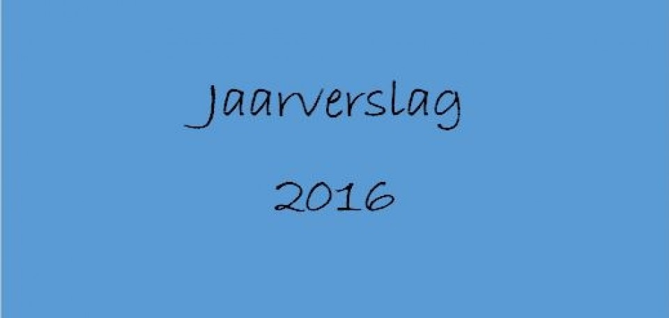 Jaarverslag 2016