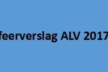 Sfeerverslag ALV 2017
