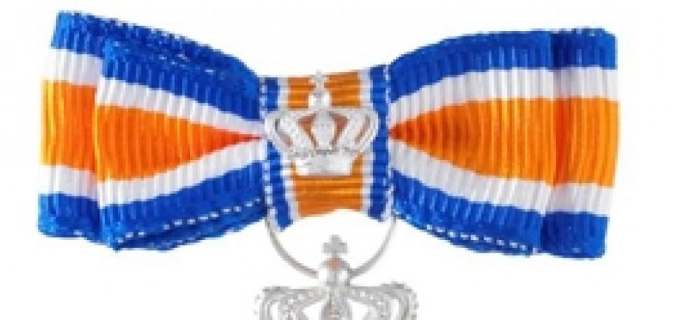 Koninklijke onderscheiding Martin Bergevoet