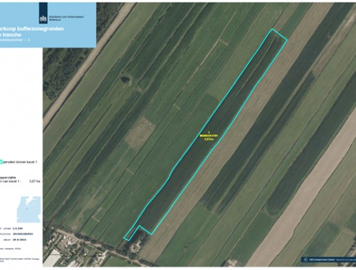 Diverse percelen landbouwgrond gelegen in de Provincies Utrecht en Zuid-Holland