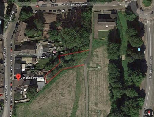 Perceel grond nabij Schandelerstraat te Heerlen